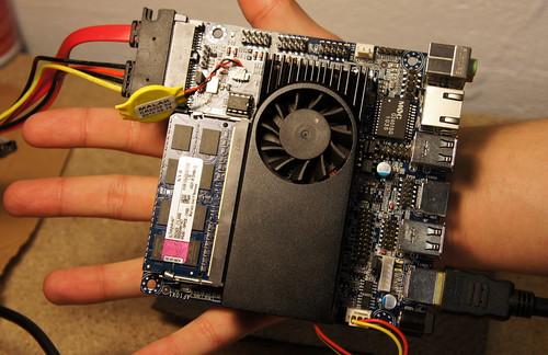 Aleutia AMD Fusion Motherboard