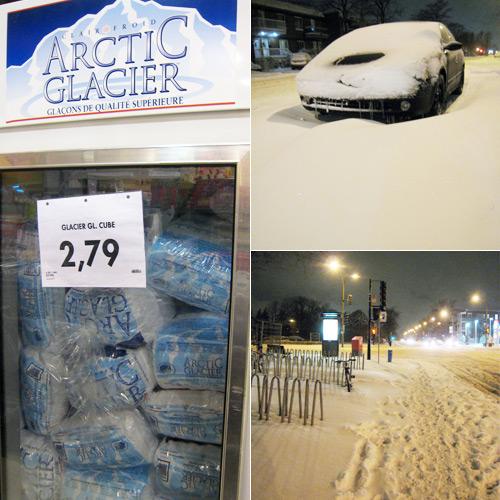 Le distributeur de glace