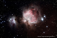 M42 / NGC1976 Great Orion Nebula and NGC1973 / NGC 1975 / NGC1977 Running Man Nebula (Simon Todd Astrophotography) Tags: longexposure photoshop canon astrophotography m42 infrared astronomy dslr deepspace celestron dso ngc1977 deepsky nebulosity ngc1975 ngc1973 hydrogenalpha irishastronomy skywatcher cs5 450d c80ed runningmannebula orionssword greatorionnebula orionmolecularcloudcomplex dslrastrophotography messier42 autoguide Astrometrydotnet:status=solved starshoot Astrometrydotnet:version=14400 backyardeos Astrometrydotnet:id=alpha20120910089203 dslrimaging dslrcooling competition:astrophoto=2013