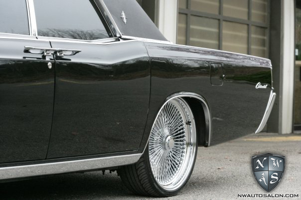 Seattle Auto Detailing Wet Sand Lincoln Continental
