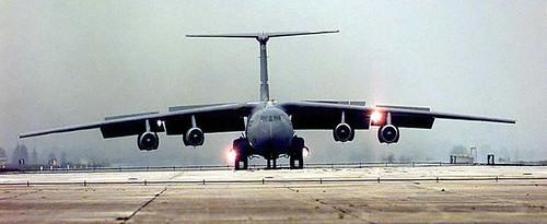 C-141 Landing