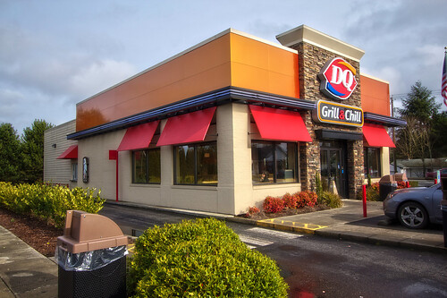 fast food restaurant exterior design