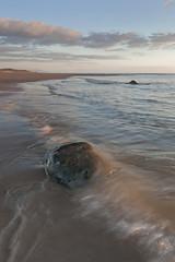 St Bees Seascape (Nick Landells) Tags: sea seascape beach rock flow evening coast sand surf waves peace peaceful wave coastal cumbria coastline tranquil ebb irishsea stbees cumbrian westcumbria
