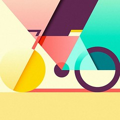 Colorful and geometrical piece of art by award winning illustrator @ray_oranges (inspiration_de) Tags: art creative design geometrical illustration
