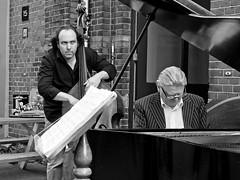 Jazzing it on the street (digitris) Tags: street candid music jazz piano doublebass digitri digitris