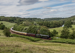 The Scarborough Flyer 1-7-2017 (KS Railway Gallery) Tags: railway main line steam uk kirkham duchess sutherland