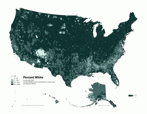 White Population Density
