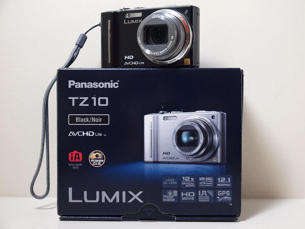 Panasonic Lumix TZ10 Camera 1