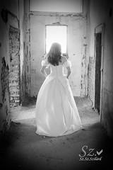Szellemidzs / psychomancy (SzSzSzilrd) Tags: girl spirit ghost modell fehr lny n szellem ksrtet fehrruha szellemidzs psychomancy