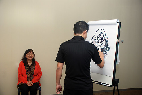 Caricature Workshop for AIA Robinson - Day 2 - 9