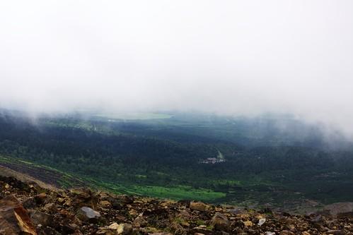 雲の下に白銀荘