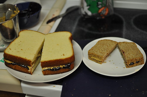 Giant Sandwich Cake Baking