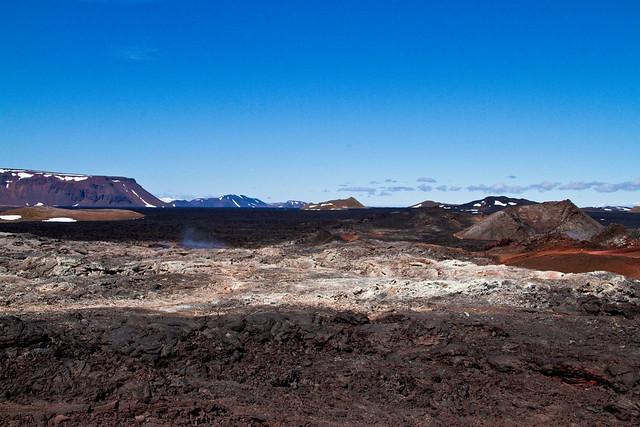 Krafla - Fisuras volcánicas - Lava