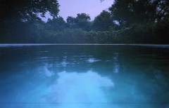 They come from the deep (Emily Savill) Tags: from blue trees test mist reflection tree film nature water pool fog analog canon outdoors vines fuji shot outdoor superia deep vine iso f 400 owl come roll fujifilm p they analogue date sure pf sureshot xtra fujicolor