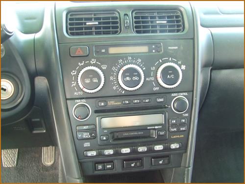 Detallado interior integral Lexus IS200-24