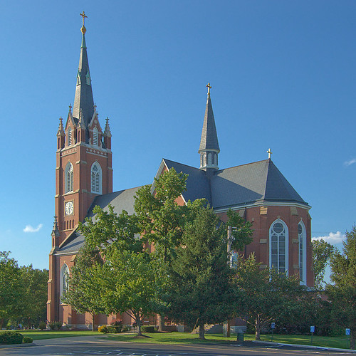 All Saints Roman Catholic Church, in Saint Peters, Missouri, USA