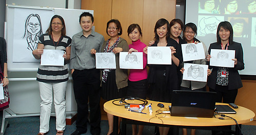 Caricature Workshop for AIA Tampines - Day 3 - 21