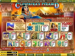 free Cleopatra's Pyramid slot mini symbol