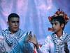 Jeunes palestiniens dansant la dabka, Beit Ummar, 25/7/10