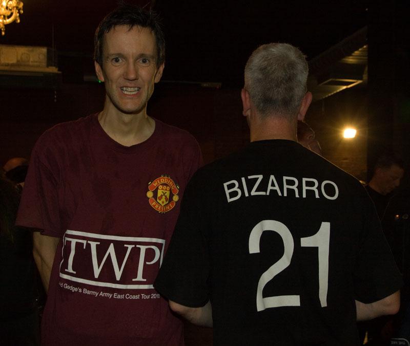 Bizarro 21 shirts