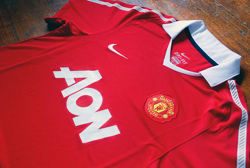 18d8a9def Manchester United 2010 2011 Home Kit - THE RETRO 70s - a photo on Flickriver
