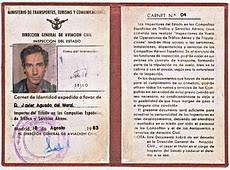 Carnet de Inspector de Javier Aguado