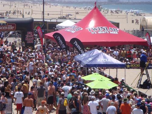 AVP Hermosa Beach Crowd