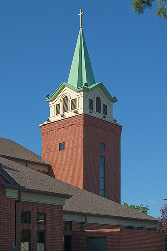 Saint Joseph Church, in Cottleville, Missouri, USA