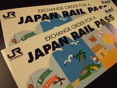 JR PASS 兌換券