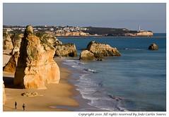 Praia da Rocha Portimo (Joo Carlos Soares) Tags: sea praia beach portugal rock landscape mar rocks carlos algarve joo portimo rocha soares 70300 praiadarocha portimao 450d