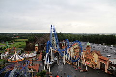 Power Park from Above