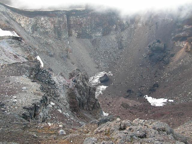 富士山の火口, 富士山登山(富士宮ルート) Climbing Mt.Fuji