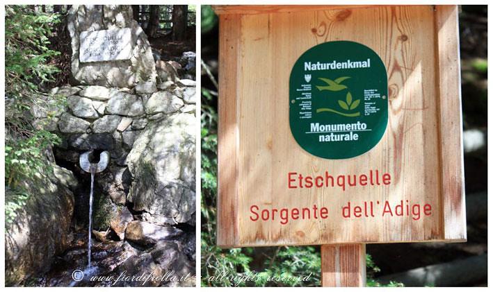 Sorgente dell'Adige - Etschquelle