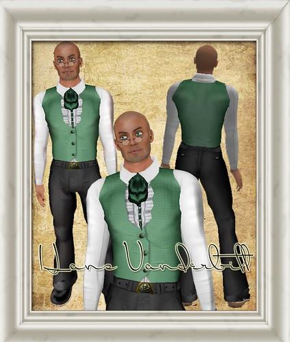 Shabby Chic Hans Vanderbilt Outfit