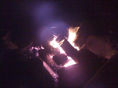campfire night in limington