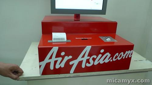 AirAsia Mobile Kiosk
