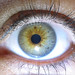 My eye up close - test
