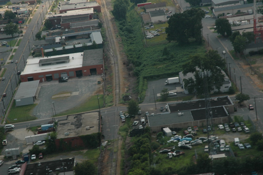 Industrial and Abandoned Trackage in Charlotte NC