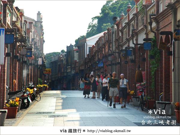 【台北景點】走入台北古味老鎮~三峽老街之旅20