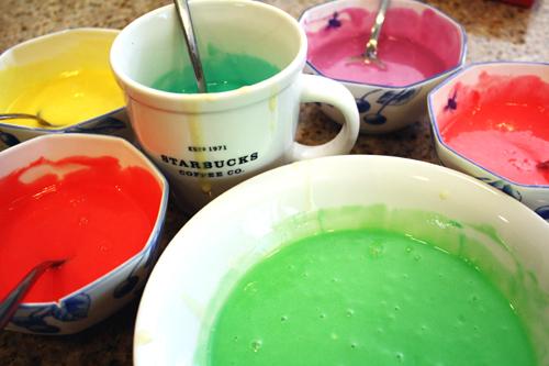 Rainbow Cake-Mix