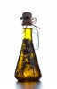 Olive oil (Volik Mariya) Tags: shadow food white color cooking kitchen yellow recipe gold golden fry salad bottle herbs background cork fat spice olive gourmet health rosemary oil garlic inside diet aromatic liquid isolated calories ingredient healthful