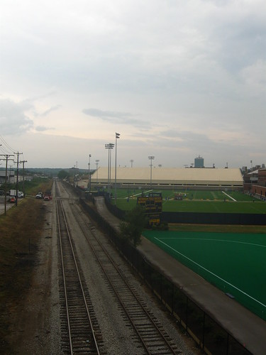 AA railroad, viewed from the Stadium bridge