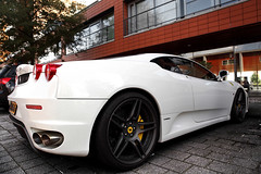 Ferrari F430 (Ferdi Photography) Tags: white netherlands canon eos nice awesome den fast ferrari 5d 28 mm van ferdi supercar f430 heuvel mark2 barendrecht 2470 novitec yellowbrakes