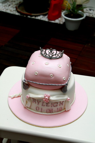 Princess cake for a little princess