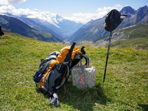瑞士与法国界碑