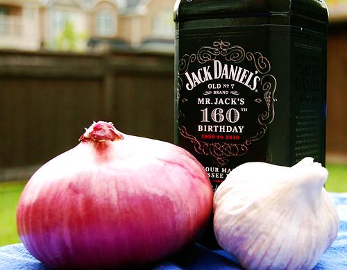 Jack's Slow-Barbecued Tennessee Brisket Ingredients