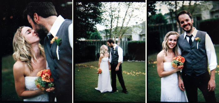 Image of Paul and Courtney:  Polaroids