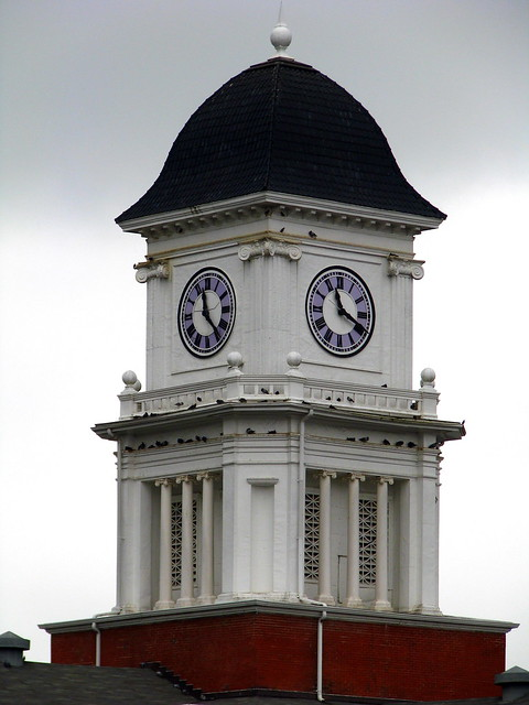 Washington County Courthouse colck tower - Jonesborough, TN
