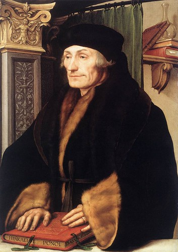 026- Portarretrato de Erasmo de Rotterdam 1523-Hans Holbein el Joven