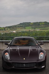 Ferrari 599 HGTE (mufracsek) Tags: auto car nikon hungary budapest ferrari exotic supercar hungaroring 2010 gtb frd 599 fiorano d90 aut vinaccia ferrariracingdays pengeverdk hgte